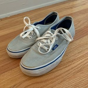Grey Vans sneakers